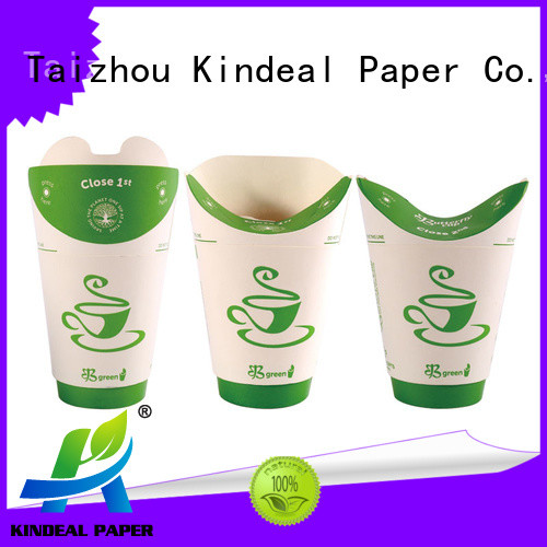 Kindeal Paper colorful paper cups with lids on sale for shop