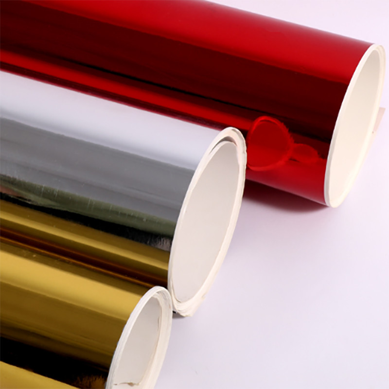 Gold or sliver foil paper board for disposable plate