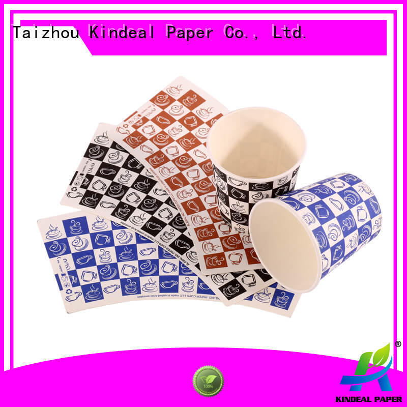 Kindeal Paper raw materials for paper cups factory price for plants