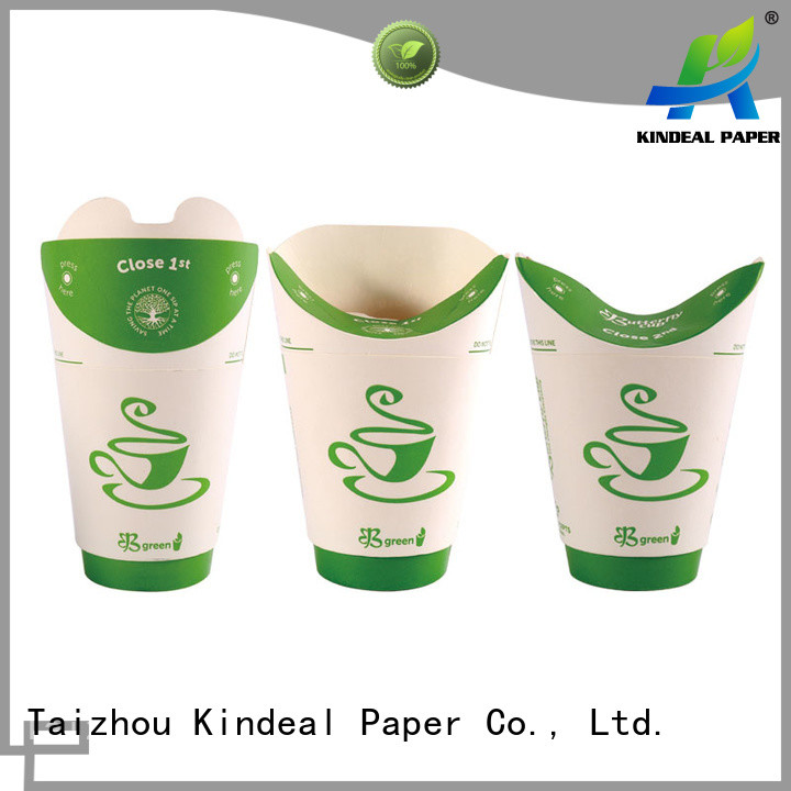 Kindeal Paper colorful paper cup supplier for restaurant