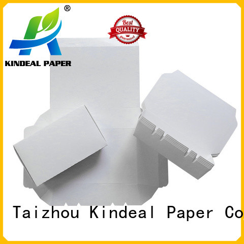 Kindeal Paper food packaging containers factory price for hotel
