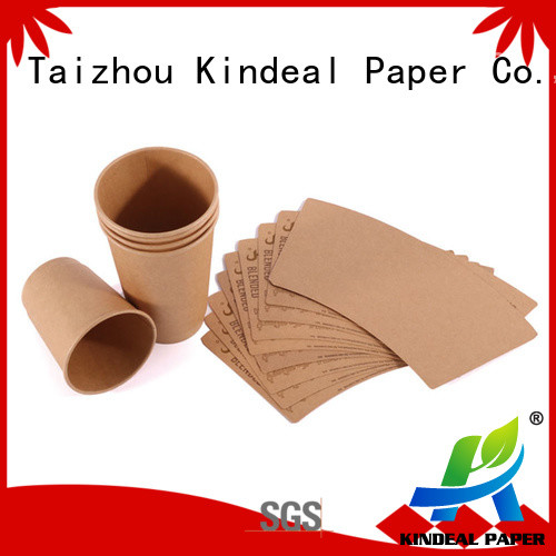 Kindeal Paper reliable paper cup material on sale for workshop