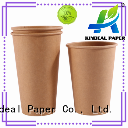 Kindeal Paper bamboo cup directly sale for cake