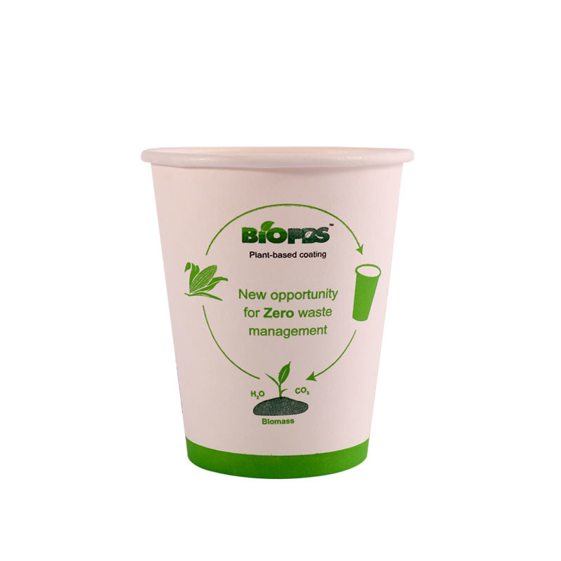 biodegradable PBS coated paper cups