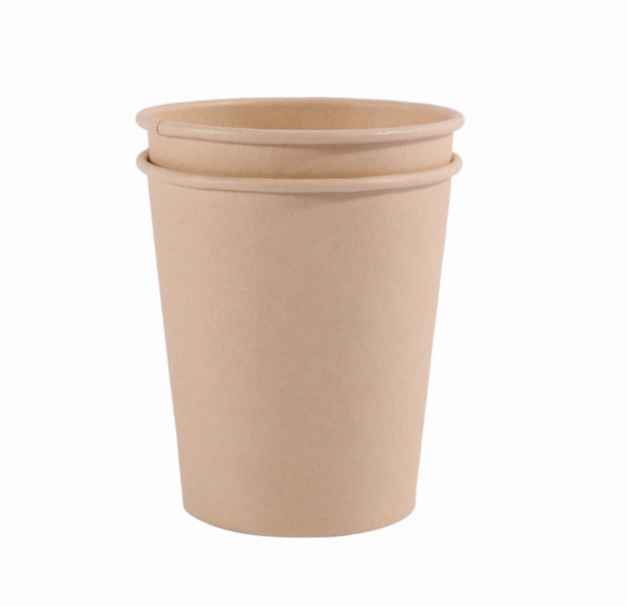 unbleached bamboo pulp paper cup