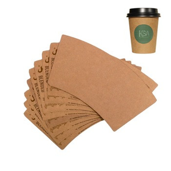 kraft paper pe coated brown cup fan paper