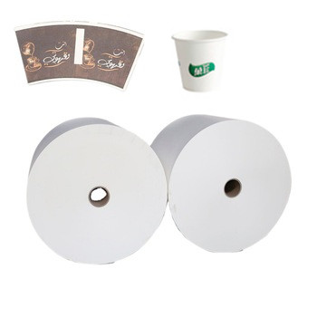paper fan cup paper cup raw material raw rolling paper