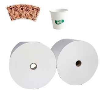 printed paper raw material coffee cups for paper cup