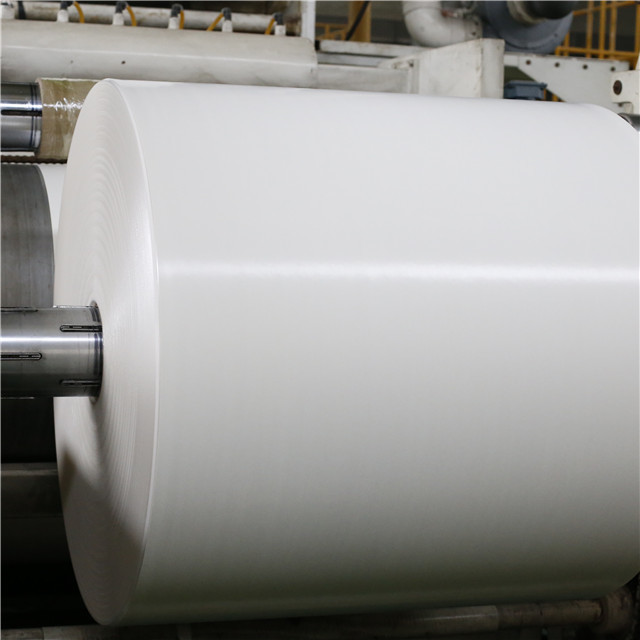 Factory price single or double side recycled raw materials PE PLA coated paper cup in roll