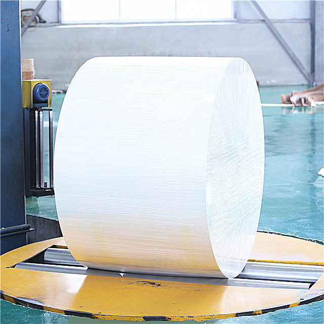 custom pattern Raw Material pla pe coated base paper for making coating cups
