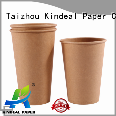 Kindeal Paper colorful printed paper cups manufacturer for shop